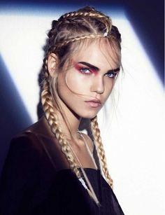 Mejores 163 Imagenes De Trenzas Y Peinados De Moda En Pinterest - Fotos-peinados-de-moda