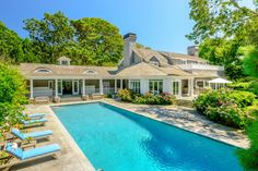 This beautiful 3.5 acre +/- compound in the Georgica estate section has some of the finest gardens and landscaping on the east end. The main house starts with a dramatic foyer and features two living rooms, formal dining room, den, sunroom, large kitchen with breakfast room and five bedrooms including the master bedroom. Separate staff apartment, finished basement with billiards room, sauna, gym, and wine room. There are a total of nine full baths and two half baths on the property as well…