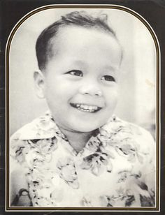 """Prem Rawat [baby picture]  :)  According to Mother Theresa: """"Peace begins with a smile"""""""