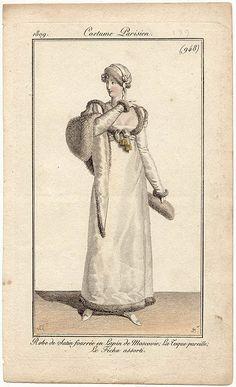 1809 costume parisien
