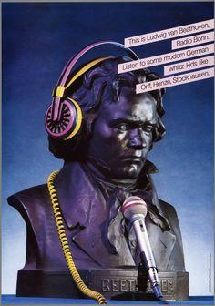 This is Ludwig van Beathoven, Radio Bonn