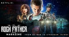 Netflix: Big Adventures & Stranger Things - From He-Man to Apache... #StreamTeam