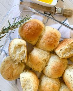 """Does anyone else feel like everyday is bread day? Well, it may not be but life would be better if it was! I can never seem to resist some warm bread straight from the oven, especially with some creamy butter. As we roll into the holiday season, it seemed only right to whip up these """"Buttery Herb Dinner Rolls"""". These rolls are soft, fluffy, and so herbaceous. They pair perfectly with any dish you plan to serve. You know you'll be seeing these at my family's table! Get your hands on the…"""