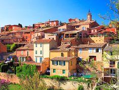 Roussillon et ses carrières d'ocre, Luberon, France