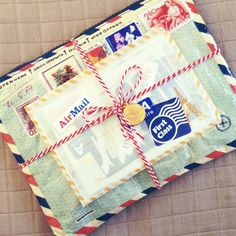 I have the air mail pouch. It's by blue q and not just cute but roomy and durable too. I found mine on amazon :)