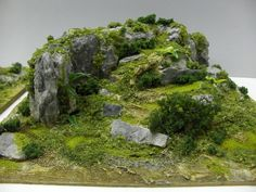 Gallery showing examples of Terrain models and scenery