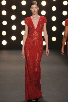 Naeem Khan Fall 2014 Ready-to-Wear Collection Slideshow on Style.com