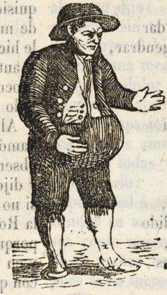 Hombre con barriga.
