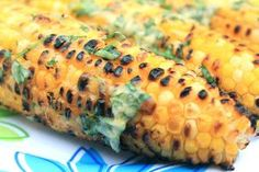 Cilantro-Lime Grilled Corn on the Cob | greens & chocolate