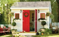 She Shed featured on HomeDepot with a DIY Checklist on the site