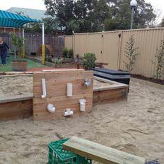 """Huge sandpit at Forever Friends ELC and Kindergarten ("""",)"""