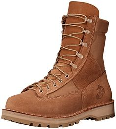 Danner Men& Marine 8 Inch Plain Toe Military Boot, Mojave, 11 D US -- You can get additional details at the image link. Military Tactical Boots, Tactical Shoes, Tactical Wear, Best Golf Shoes, Danner Boots, Cool Boots, Winter Shoes, Hiking Boots, Combat Boots