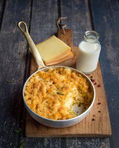 Mac & Cheese à la raclette pour 4 personnes - Recettes Elle à Table