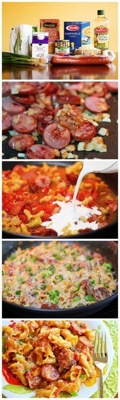 Easy Sausage Pasta