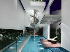 Elegantes Interior in einem modernen Haus in Singapur - http://wohnideenn.de/innendesign/09/interior-modernen-haus-in-singapur.html