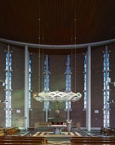 Gallery - Photography: Mid-Century Modern Churches by Fabrice Fouillet - 12