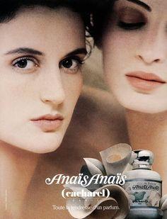 Cacharel (Perfumes) 1994 Anais Anais, Sarah Moon Publicité ancienne Parfums photographiée par Sarah Moon | Hprints.com