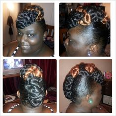 Able to achieve this on relaxed hair also!