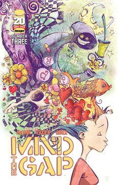 Beautiful Mind The Gap #3 variant cover