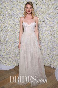 Limor Rosen Bridal Spring 2018 | Brides.com Bridal Fashion Week, Bridal Looks, Altar, Wedding Designs, Brides, Dream Wedding, Wedding Inspiration, Wedding Dresses, Spring