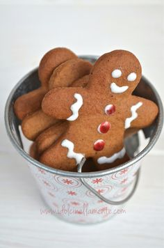 Gingerbreads...Grandma says that a balanced diet is a cookie in each hand!