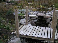 Garden Stream, Water Garden, Diy Jardin, Horticulture, How To Build Steps, Pond Filters, Backyard Plan, Natural Pond, Dry Creek