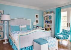 28 best For the Home - girl blue bedroom ideas images on Pinterest ...