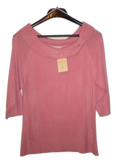 Bonmarche Pink Jumper, Size Large uk 14, New with Tags