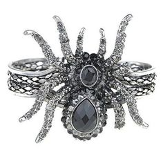 Charming #Gothic #Jewelry #Spider #Fashion