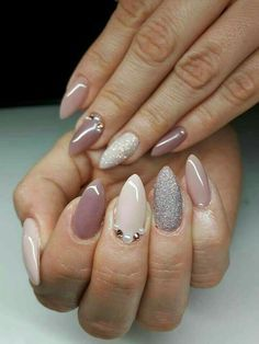 40 Latest trends beautiful Glitters Nail ideas 2017