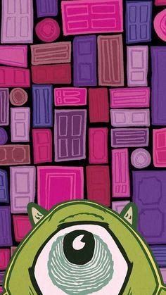 Fondos de pantalla Monster Inc. Simple Canvas Paintings, Small Canvas Art, Mini Canvas Art, Dark Art Paintings, Easy Canvas Art, Easy Canvas Painting, Disney Canvas Art, Disney Art, Disney Pixar