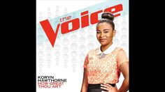 Koryn Hawthorne - How Great Thou Art - Studio Version - The Voice 8