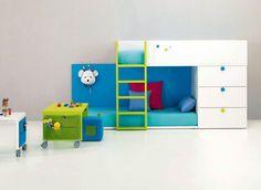 creative children loft bed