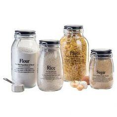 4-Piece Webster Jar Set