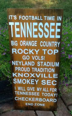 Wooden+Tennessee+Vols+sign+by+HomeDco+on+Etsy,+$49.00