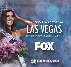 Pageant TV Channel: NEWS: Miss Universe 2015 takes place in Las Vegas,...