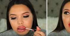 Beauty Blogger Applies 100 Layers Of Liquid Lipstick And The Result Will Make You Nauseous!