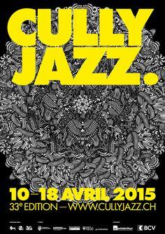 CULLY JAZZ FESTIVAL 2015 - Visuel : Anaëlle Clot