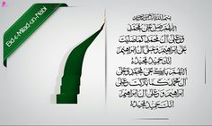Eid Milad-un-Nabi Wishes Wallpaper with Drood-e-Paak