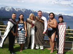 Traditional Maori wedding ceremony in New Zealand, 10th Anniversary