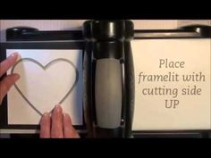 How-To Double-Duty Framelits  how to emboss, rather than cutting through the card stock