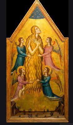 Magdalena (assumpció de )  Don Silvestro dei Gherarducci Noli Me Tangere, Marie Madeleine, Mary Magdalene, John The Baptist, Holy Family, Egypt, Saints, History, Gallery
