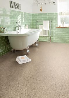 Vinyl Flooring Bathroom, Bathroom Vinyl, Dalle Pvc, Terrazzo Tile, Waterproof Flooring, Classic Bathroom, Style Tile, Floor Cushions, Luxury Vinyl