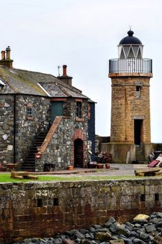 Port Patrick Lighthouse, Scotland