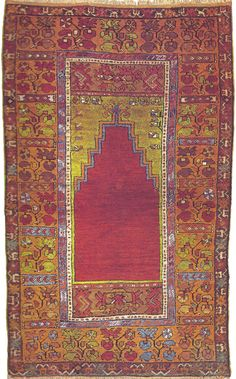 Antique Maden rug. This graphic style from the 19th century was typically woven in the village of Camardi in Turkey.