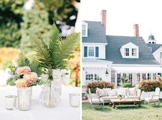 Blush pink wedding at Inn at Perry Cabin by Belmond.