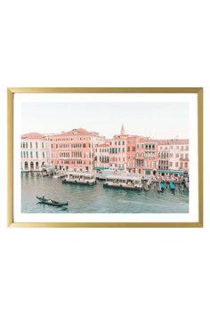 Venice Art Print - Grand Canal #3 Italy Print 527 Photo.