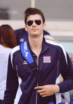 """Matt Anderson, USA - Men's Volleyball. Saw him play the other day. All I could say was """"damn"""""""