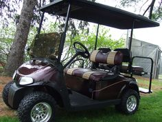 Roll in with style Custom Golf Carts, Building, Style, Swag, Buildings, Construction, Outfits