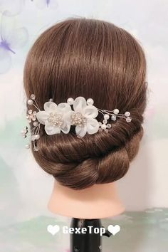 Bride Hairstyles Tutorials Compilation 2019 - Hairstyles Part 3 - 15 natural hair 2019 ideas Bride Hairstyles For Long Hair, Wedding Hairstyles Tutorial, French Braid Hairstyles, Indian Wedding Hairstyles, Simple Hairstyles For Medium Hair, Hairdo For Long Hair, Side Bun Hairstyles, 1950s Hairstyles, Hairstyles Videos